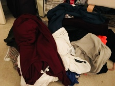 Clothes sort out