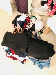 Clothes clear out