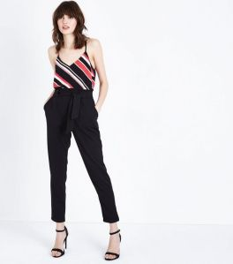 cameo-rose-black-belted-paperbag-waist-trousers
