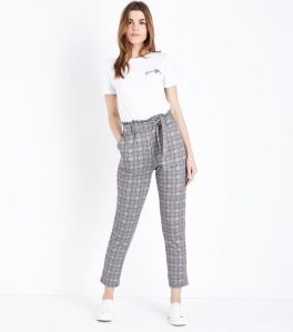 cameo-rose-green-prince-of-wales-check-paperbag-waist-trousers