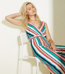 white-stripe-ribbed-wrap-jumpsuit