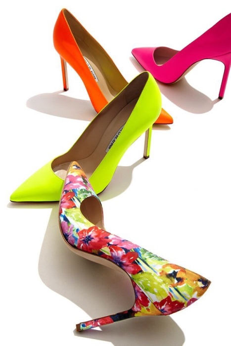 Bright shoes