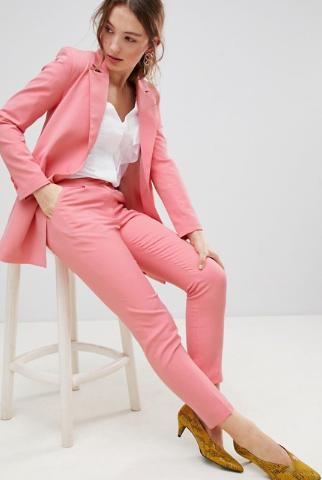 Unique 21 Slim Leg Trousers Co-Ord