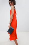 ASOS RED strap midi dress