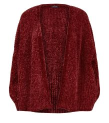 burgundy-chenille-balloon-sleeve-jumper