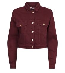 burgundy-cropped-denim-jacket