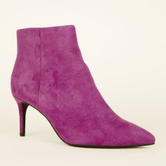 dark-purple-suedette-pointed-ankle-boots-