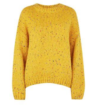 mustard-nep-knit-slouchy-jumper