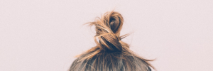 bun hair image