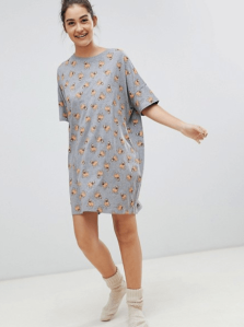 Pug ASOS night dress