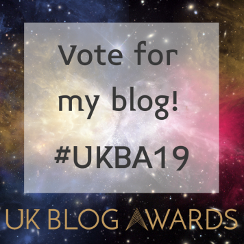 UK Blog Awards image