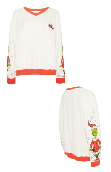 Grinch Jumper Pyjamas
