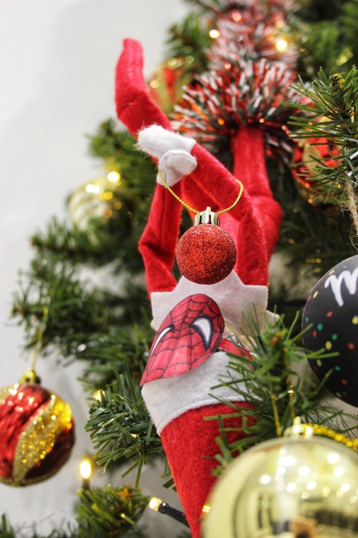 Spider Elf Dress Up