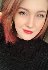 Selfie with makeup