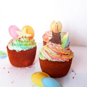 Blogiversary cupcakes