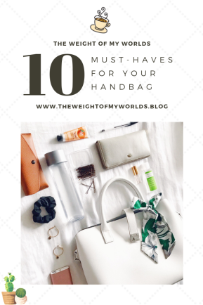 Handbag Essentials Pinterest Infographic