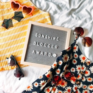 Sunshine Blogger Award photo