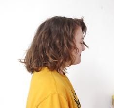 Hair Colour Before