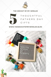 5 Thoughtful Fathers Day Gifts Pin