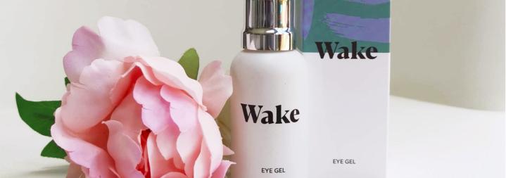 Wake skincare banner