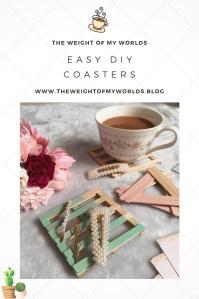 DIY coasters Pin Easy