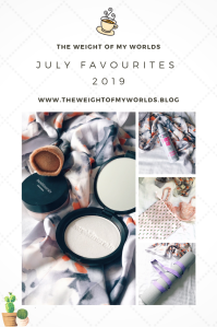 July Favourites pin