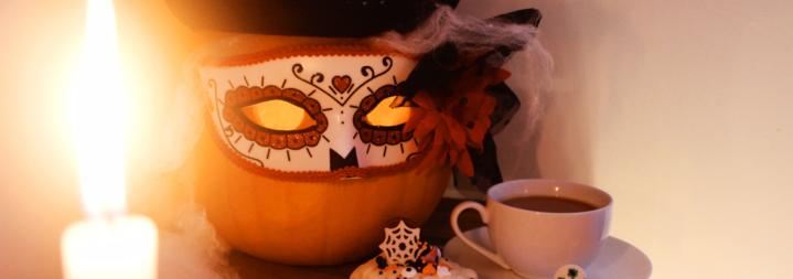 Easy Halloween Brownies AndPumpkins.
