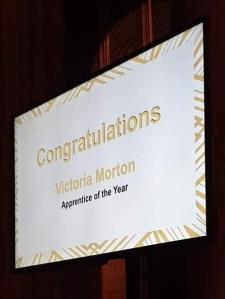 Apprentice award