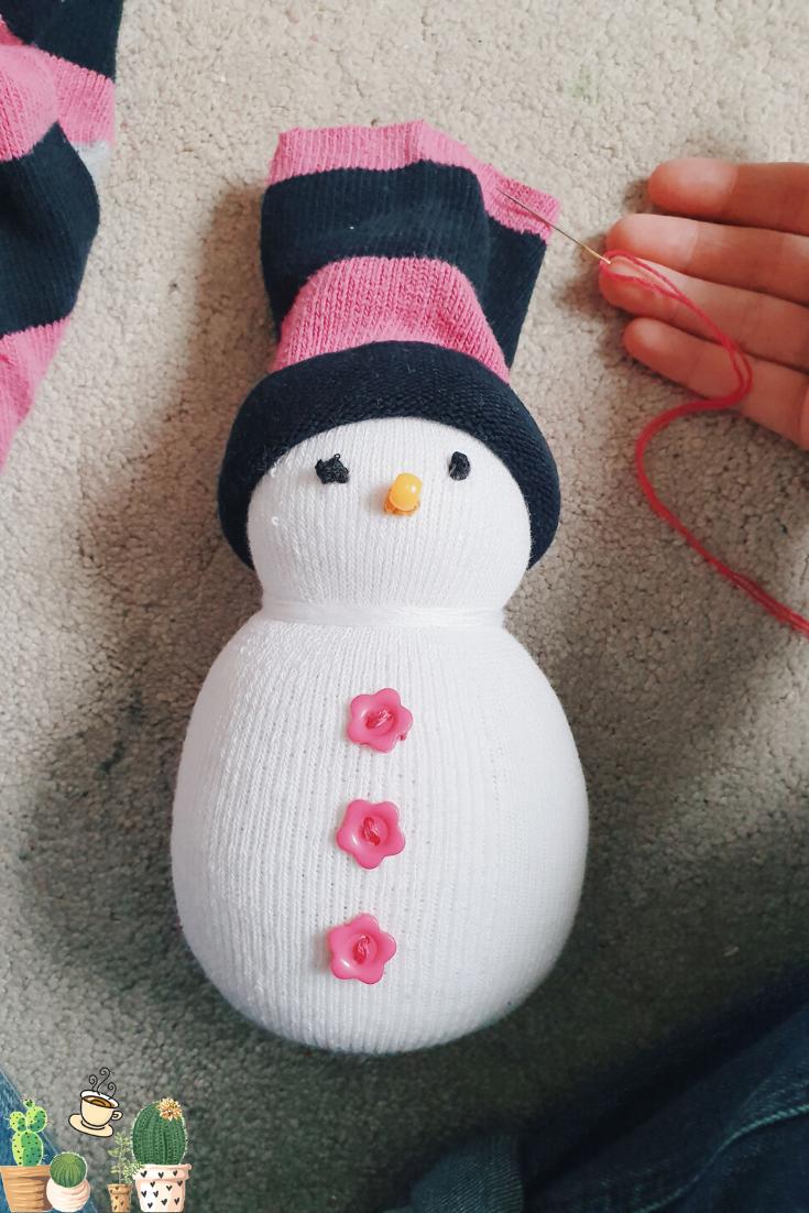 Step 8 Snowmen