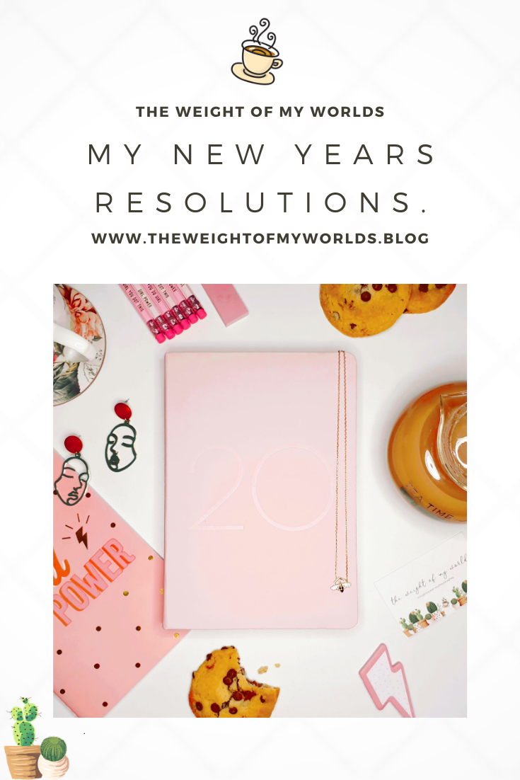 New Years Resolutions Pin