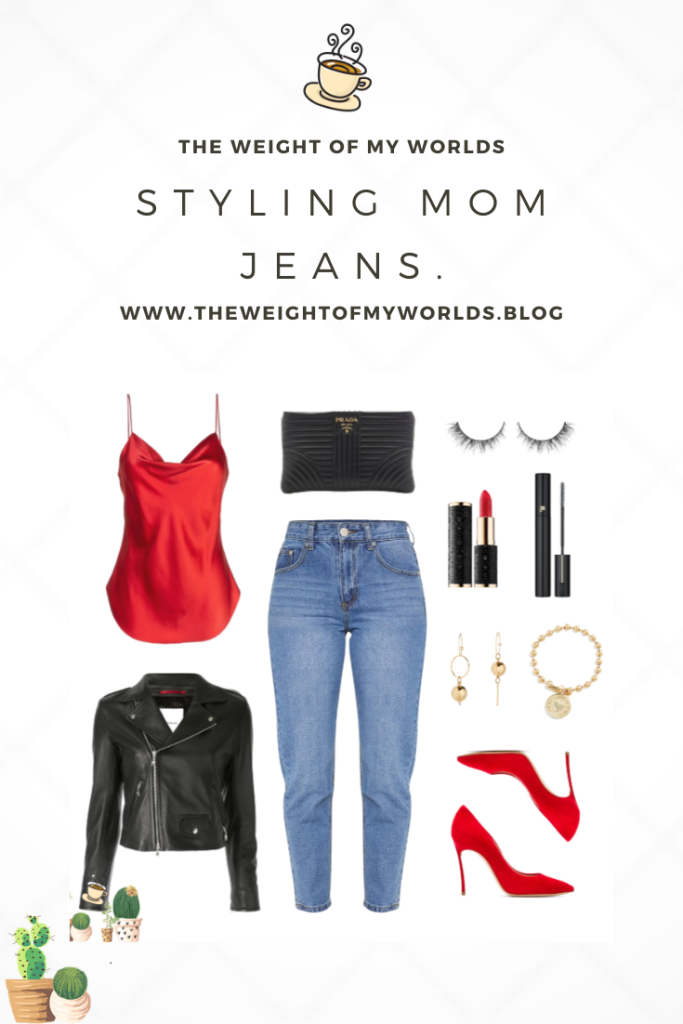 Styling Mom Jeans Pin