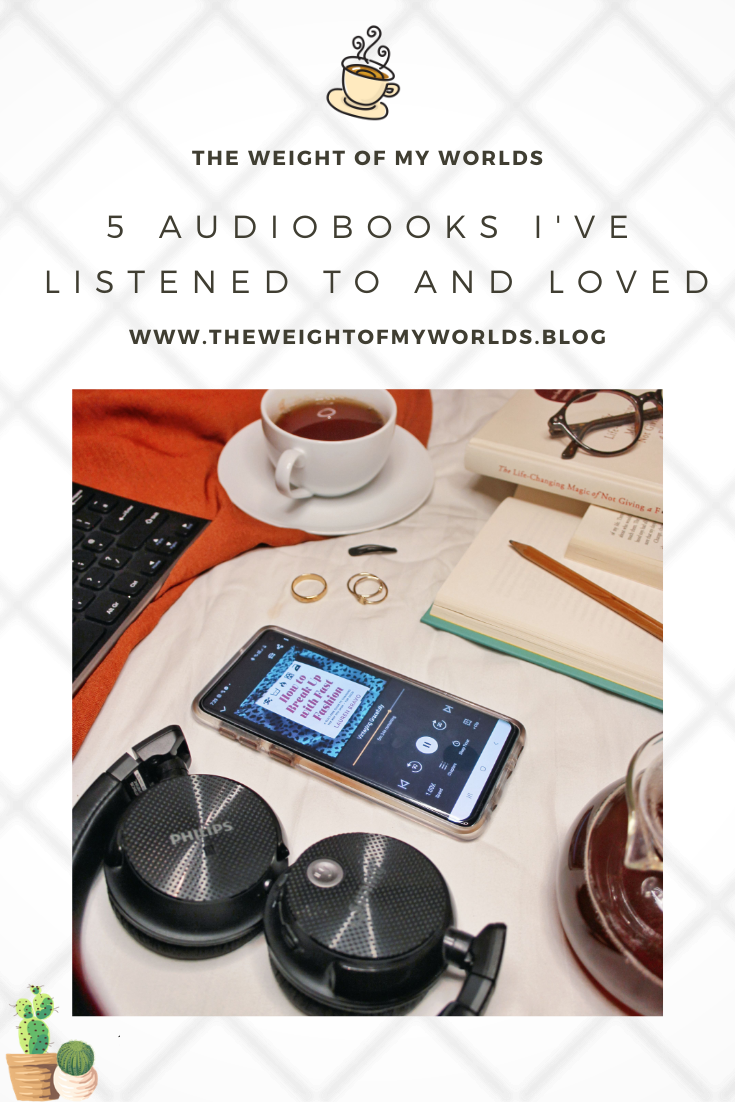 5 Audiobooks I've listened to and loved pin