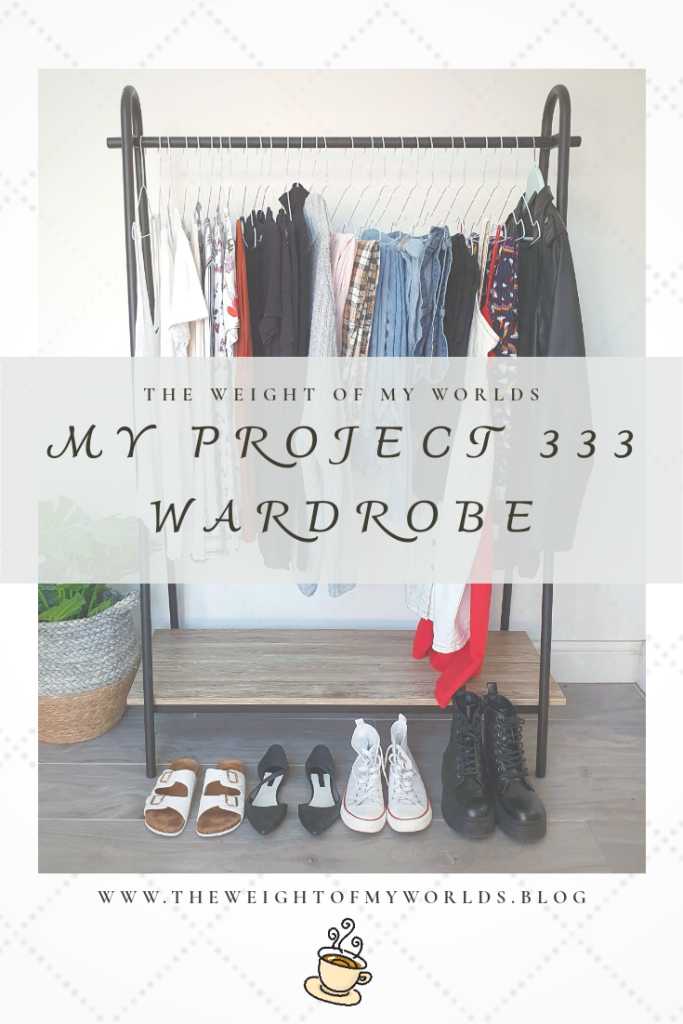 Project 333 Wardrobe Pin