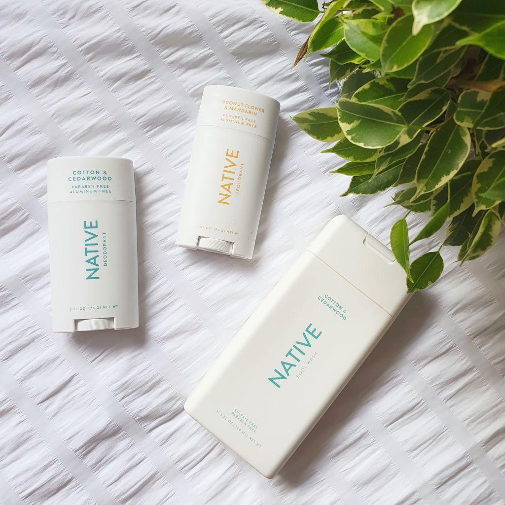 Native Deodorant and Body Wash