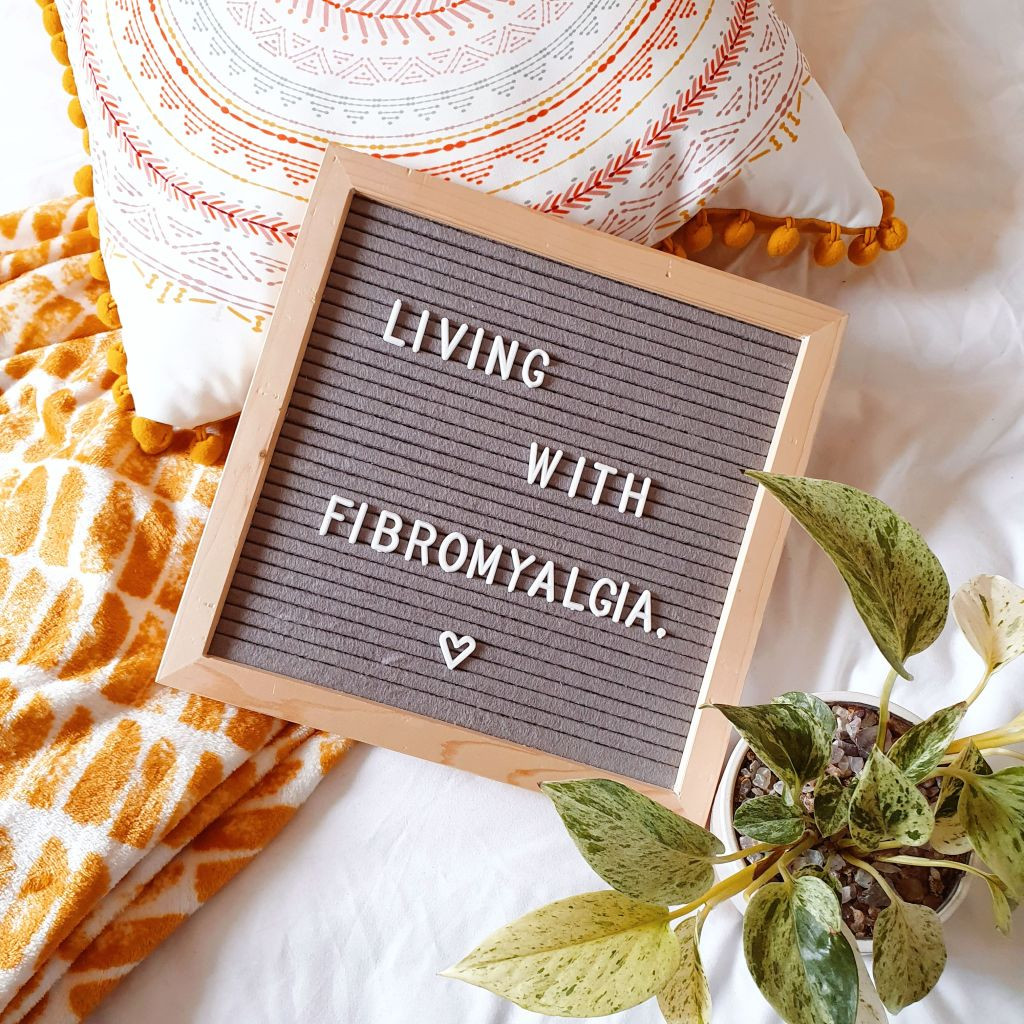 Living with fibromyalgia pegboard