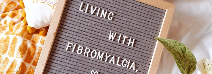 Living with fibromyalgia banner