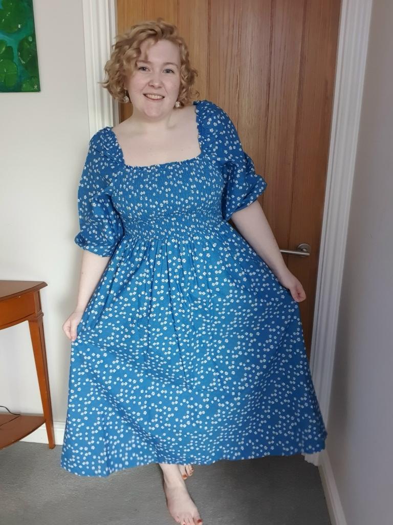 Dress before customising