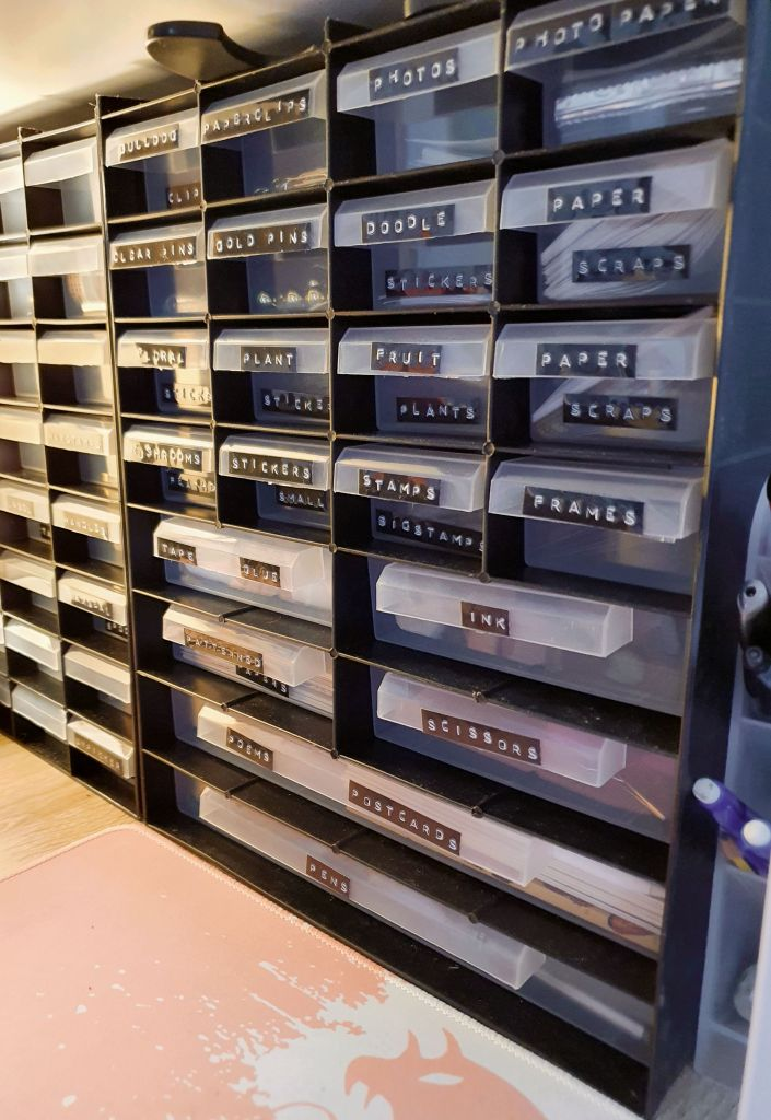 Craft filing boxes