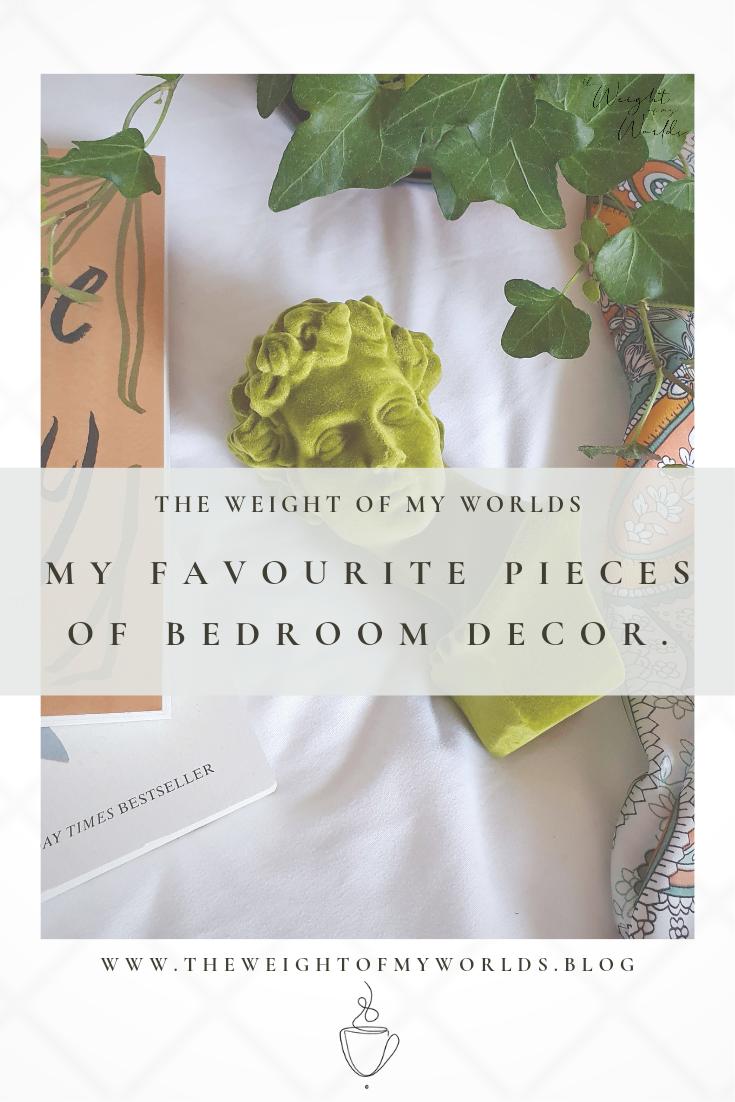 Favourite bedroom decor pin